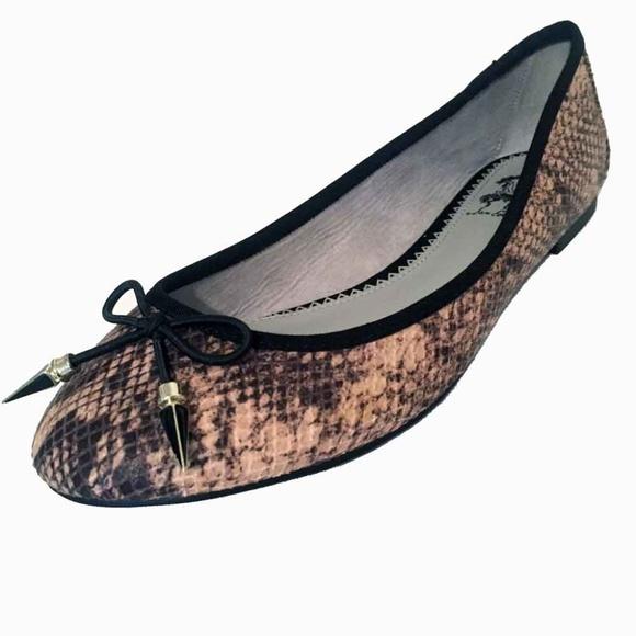 8bdb27fe6ad01a Circus by Sam Edelman Shoes - Circus Sam Edelman Snakeskin Ballet Spike  Flats